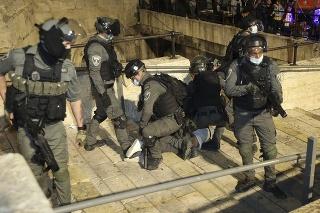 Izraelská polícia.