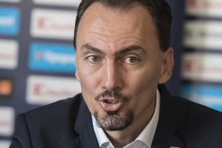 Na snímke prezident Slovenského zväzu ľadového hokeja (SZĽH) Miroslav Šatan.