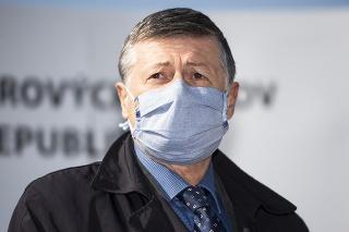Predseda Slovenského odborového zväzu zdravotníctva a sociálnych služieb Anton Szalay.