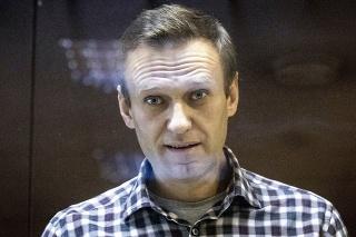 Uväznený kritik Kremľa Alexej Navaľnyj na archívnej snímke z februára 2021