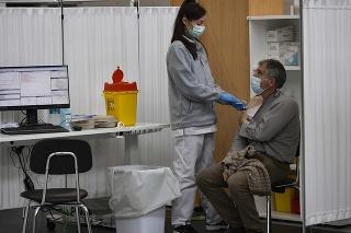 Očkovanie v  španielskej Pamplone.