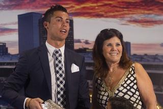Cristiano Ronaldo a jeho matka Dolores.