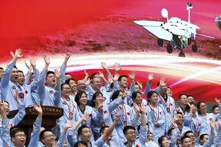 Na Marse prvýkrát pristála čínska sonda.