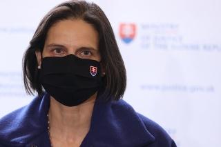Ministerka Kolíková na tlačovej konferencii k Lučanskému.