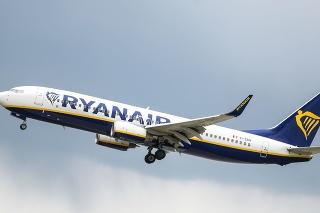 Lietadlo spoločnosti Ryanair.