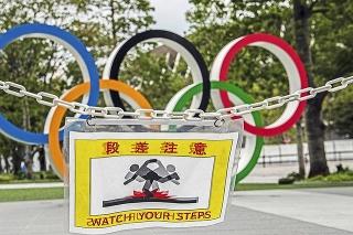Olympijské športoviská v Tokiu sú od marca zakonzervované.