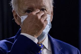 Americký demokratický prezidentský kandidát Joe Biden