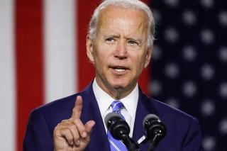 Demokratický prezidentský kandidát Joe Biden