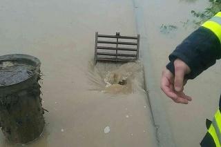 Rozvodnené toky: