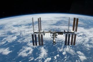 Medzinárodná vesmírna stanica po oddelení sa raketoplánu Atlantis 25. novembra 2009.