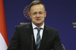Maďarský minister zahraničných vecí Péter Szijjártó