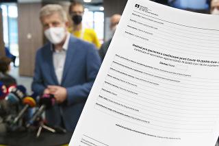 Okrem osobných údajov sú v certifikáte aj informácie o tom, kedy a kde človek vakcínu dostal.