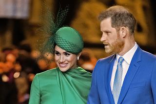 Skutočný pár: Harry a Meghan oslávili tretie výročie svadby.