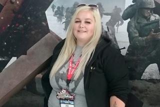 Amber Hope schudla polovicu svojej pôvodnej váhy.