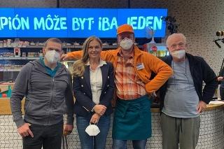 Monika Beňová v seriáli Pumpa