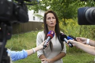 Generálna riaditeľka Slovenského pozemkového fondu Gabriela Bartošová