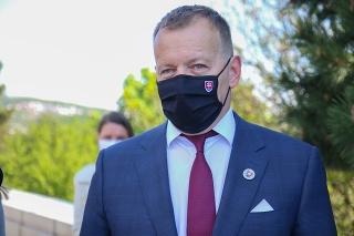 Predseda NR SR Boris Kollár.