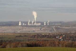 Hnedouhoľná baňa Turów, ktorá sa  nachádza pri česko-poľských hraniciach.