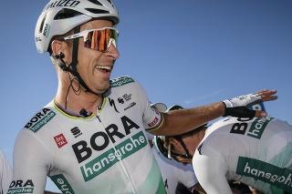 Peter Sagan po víťazstve v 10. etape na Giro d'Italia 2021.
