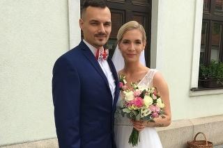 Novomanželia: Barbora a Andrej sa chceli vziať už vlani v marci, podarilo sa to však až teraz.