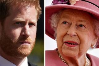 Princ Harry sa na narodeniny kráľovnej Alžbety II. vykašľal.