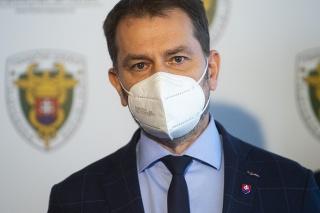Minister financií SR Igor Matovič (OĽaNO)