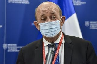 Francúzsky minister zahraničných vecí Jean-Yves Le Drian
