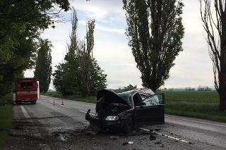 Mladý vodič narazil do stromu, cestu medzi Trnavou a Bučanmi uzavreli.