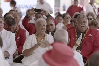 Novú premiérku Samoy nevpustili do parlamentu, kde mala zložiť prísahu.