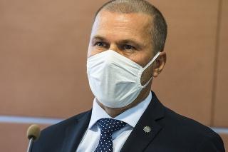 Dočasne poverený prezident Policajného zboru SR (PZ SR) Peter Kovařík