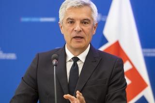 Na snímke minister zahraničných vecí a európskych záležitostí SR Ivan Korčok