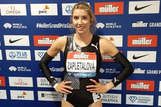 Slovenská prekážkarka Emma Zapletalová.