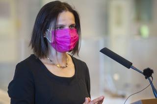 Kolíková hlasovala proti odobreniu vakcíny Sputnik V.