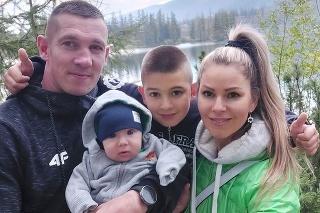 Rodina pokope: Dominika sa stala dvojnásobnou mamou pred 4 mesiacmi.