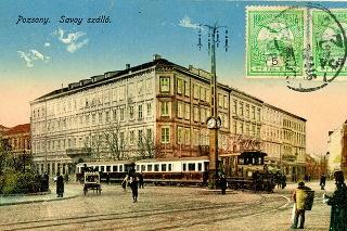 Pohľadnica, ktorú poslal Petrov pradedo sa po 106 rokoch vrátila do Bratislavy.