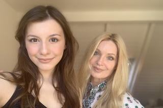 Speváčka Marcella Molnárová a dcéra Sophia Laura