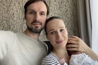 Rodinka: Manžel Marián Kavulič  bol pri pôrode malého Radka.