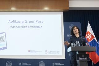 Predstavenie aplikácie GreenPass.