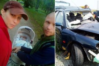 Csuvarovci mali vážnu autonehodu.