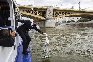 Druhé výročie tragickej zrážky výletnej lode Viking Sigyn s vyhliadkovou loďou Hableány.