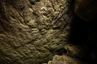 V škótskej hrobke z obdobia neolitu objavili praveké rytiny jeleňov.