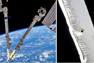 Vesmírny odpad zasiahol kanadské robotické rameno na ISS.