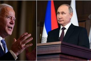 Americký prezident Joe Biden a ruský prezident Vladimir Putin.