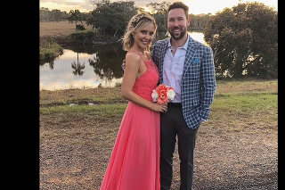 Liam Talbot a jeho manželka.