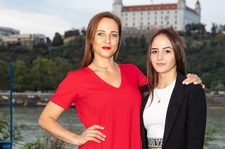 Moderátorka Adriana Poláková s dcérou