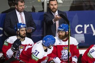 Tréner Filip Pešán a český tím na MS 2021 v hokeji