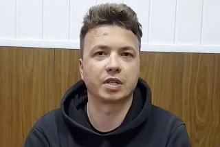 Bieloruský opozičný novinár Raman Pratasevič.