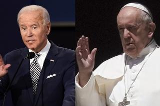 Pápež a Biden by sa mali stretnúť 15. júna.