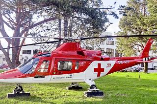 Helikoptéru na Slovensku kúpili v roku 2006.