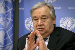 Generálny tajomník OSN António Guterres